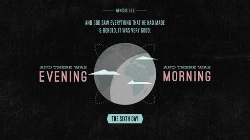 Genesis 1:31 verse of the day image