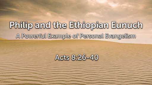Philip and the Ethiopian Eunuch