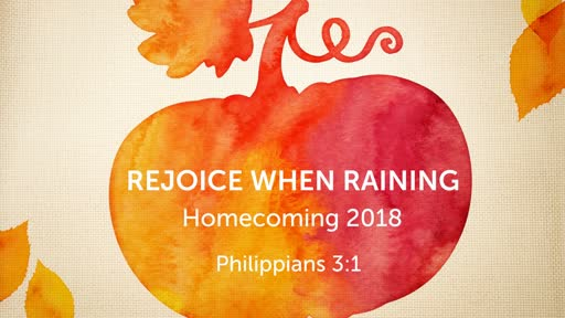 Rejoice when Raining