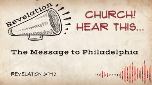The Message to Philadelphia