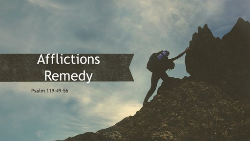 Afflictions Remedy