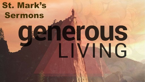 Generous Living