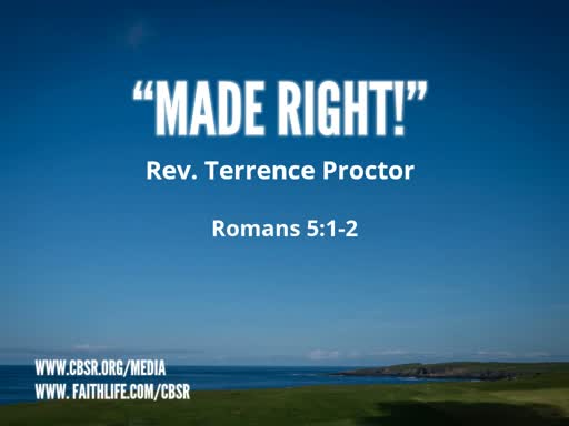 "11-04-18 ""Made Right!"""