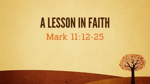 Mark 11:12-25