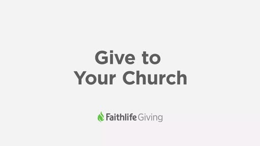 Give To Your Church from Faithlife.com