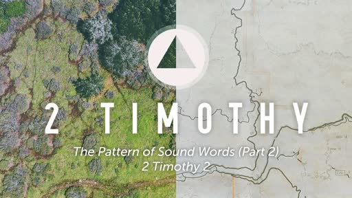 Sunday, November 4 - PM - The Pattern of Sound Words (Part 2)