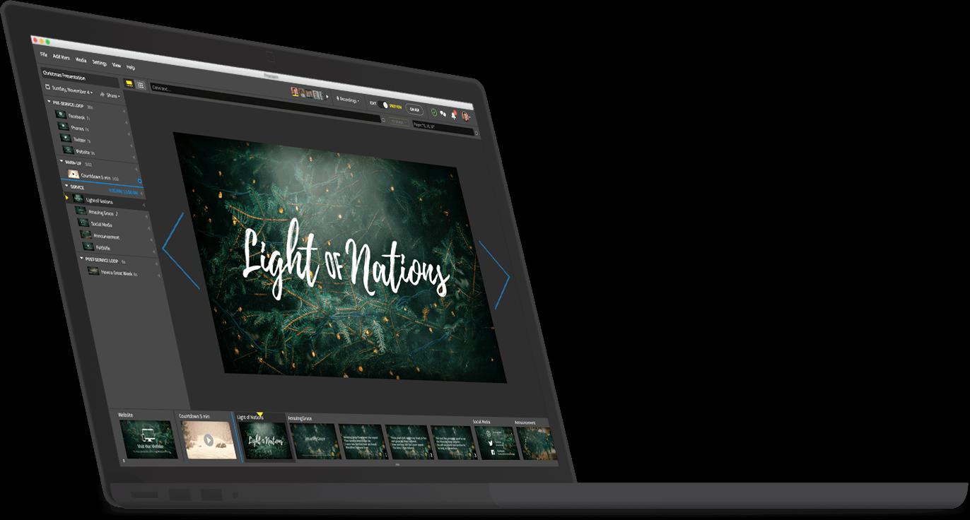 Laptop with Proclaim