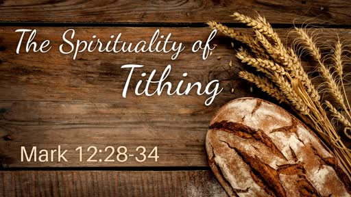 The Spirituality of Tithing
