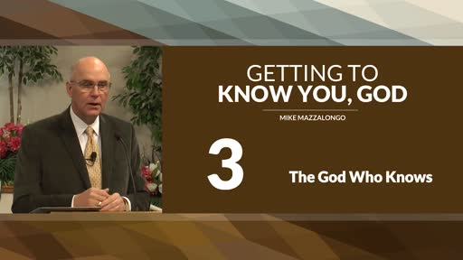 The God Who Knows