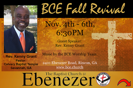 Fall Revival with Kenny Grant