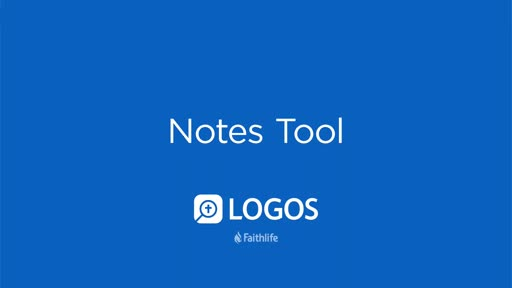 Notes Tool