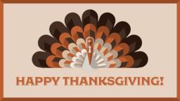 Thanksgiving Turkey  PowerPoint image 1