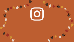 Thanksgiving Turkey instagram 16x9 PowerPoint image