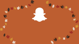 Thanksgiving Turkey snapchat 16x9 PowerPoint image