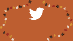 Thanksgiving Turkey twitter 16x9 PowerPoint image
