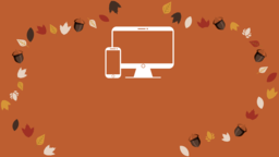 Thanksgiving Turkey website 16x9 PowerPoint image