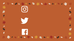 Thanksgiving Turkey social media 16x9 PowerPoint image