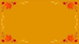 Thanksgiving Foliage content a PowerPoint image