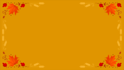 Thanksgiving Foliage content b PowerPoint image