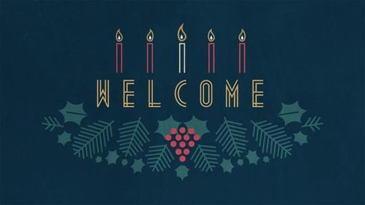 Advent Wreath - Welcome