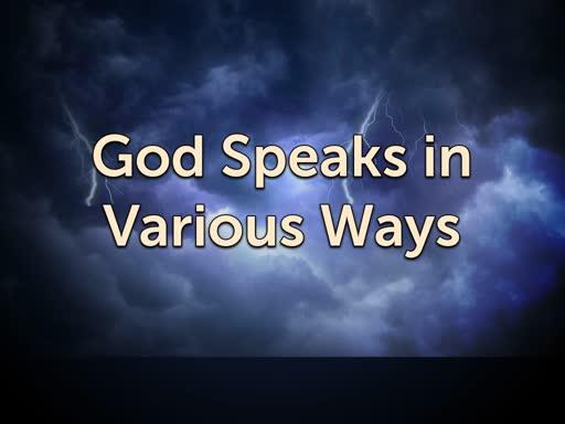 11/07/18 Bible Study