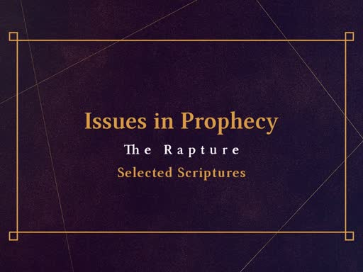 EZ38390032-Issues in Prophecy