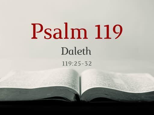 Psalm 119 (4)