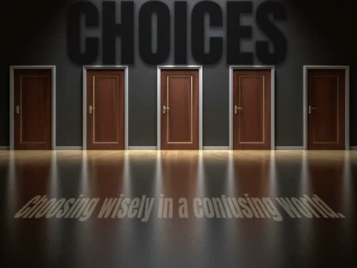 Choosing Rightly  11/11/18
