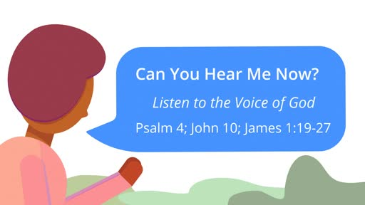 Can You Hear Me Now? Listen to the Voice of God