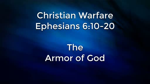 November 11 - Christian Warfare