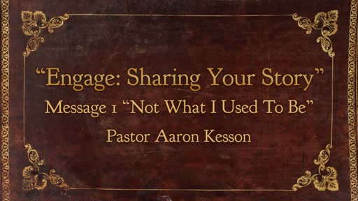 Engage: Sharing your Story