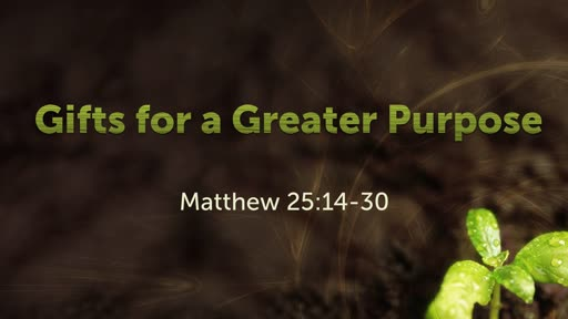 Gifts for a Greater Purpose