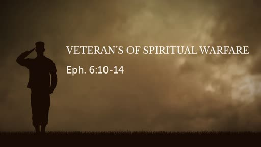Veteran's of Spiritual Warfare