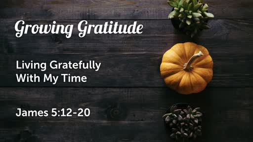 Growing Gratitude | living gratefully with my time