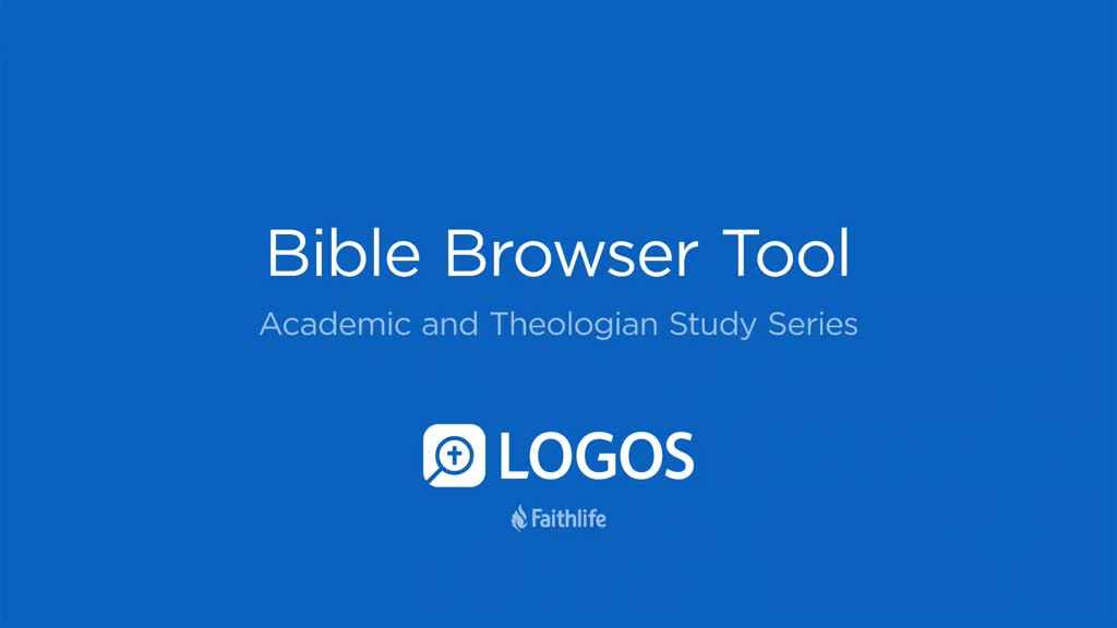 Bible Browser Tool
