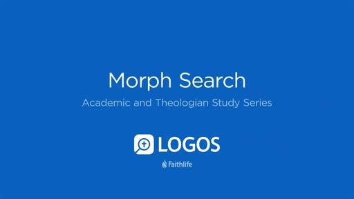 9. Morph Search