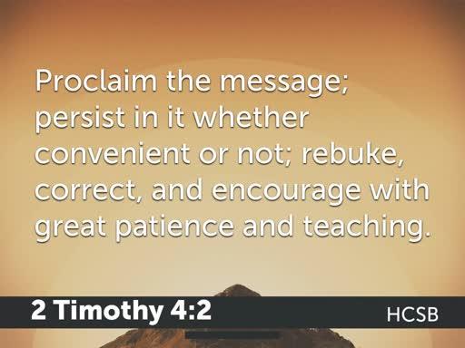 What Makes a Good Preacher Tick?