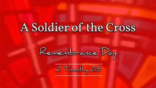 A Soldier of the Cross