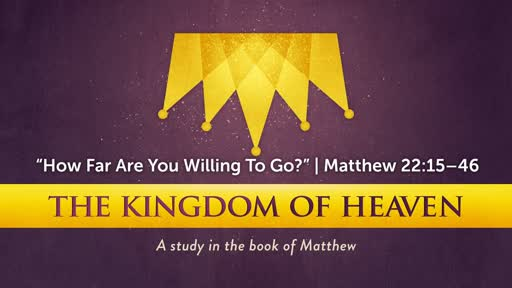 """""""How Far Are You Willing To Go?"""" 