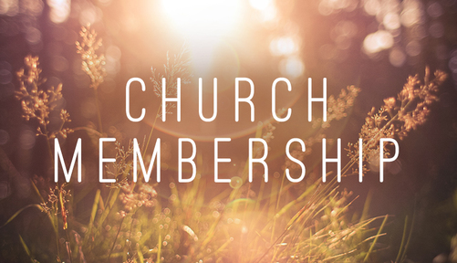 What It Means to Be A Church Member