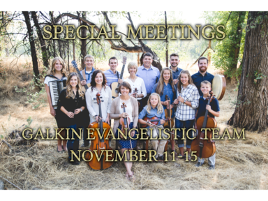 Galkin Meetings: Tuesday Evenings