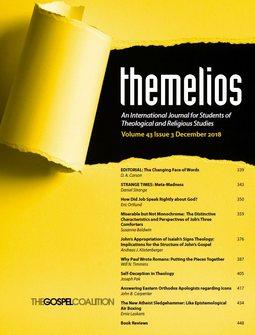 Themelios: Volume 43, No. 3, December 2018