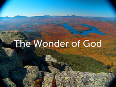The Wonder of God