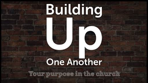 Building Up One Another (Sunday School) Lesson 7