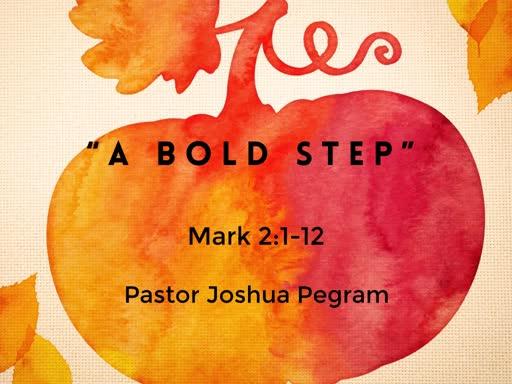 A Bold Step
