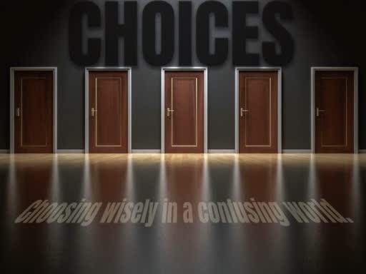 Choosing Hope  11.18.2018