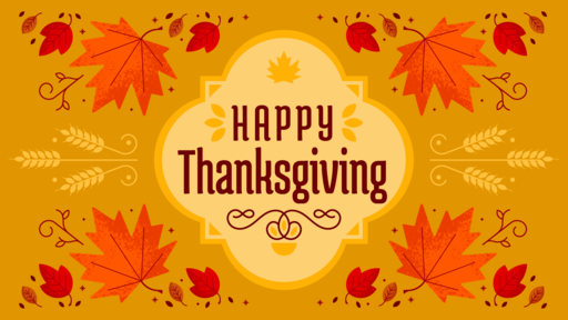 Thanksgiving 2018: With Christ at Thanksgiving