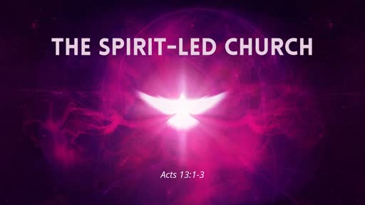 The Spirit-Led Church