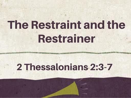 The Restraint and the Restrainer