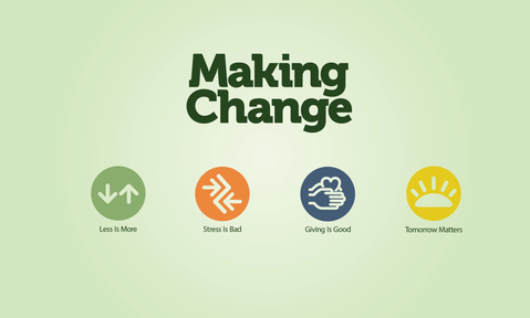 Making Change: Week 1 - Less is More